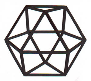 how to draw an octahedron